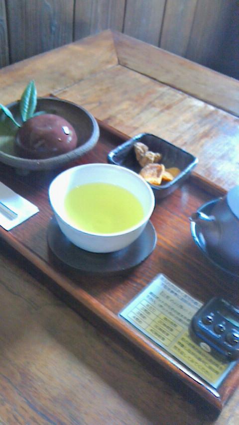 心樹庵のお茶