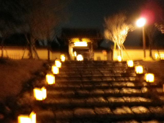 東大寺戒壇院夜間拝観