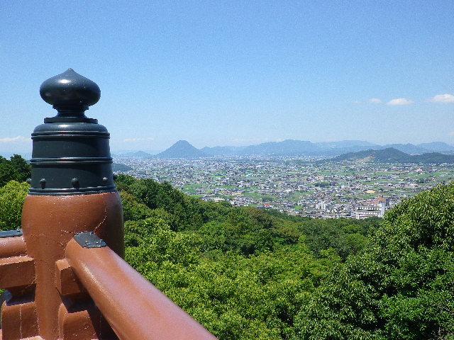 御本宮からの眺め