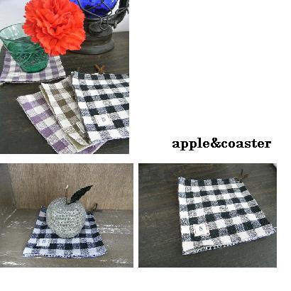 リンゴ&コースター
