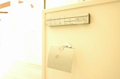 紙巻器とリモコン