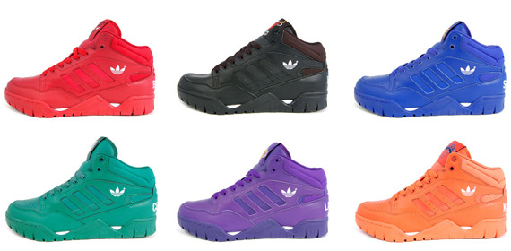 adidas スニーカー 蛍光