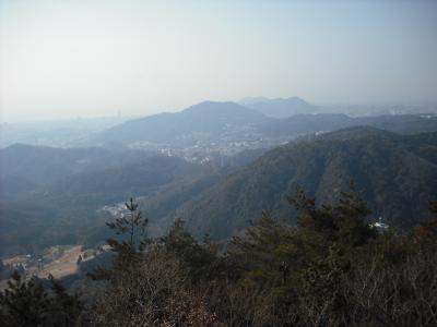 菊水から西の山々