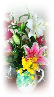 エミ先生のお誕生日 お花