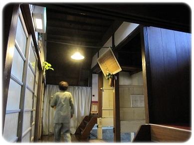 旅館 別館お風呂廊下