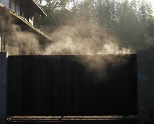 門から蒸気2