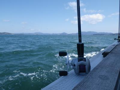 釣り日和でしたが