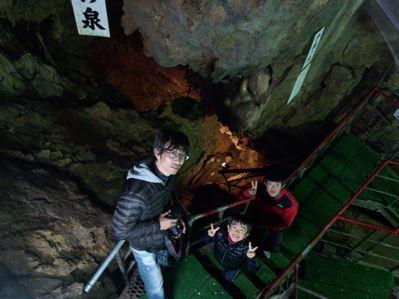 洞くつ探検