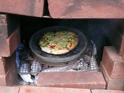 こんなにおいしいピザを