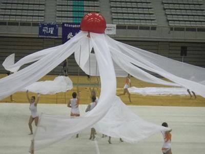 新体操の発表会