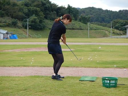 授業外ゴルフ