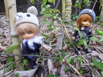 ドール 野外撮影 熊出没注意?2