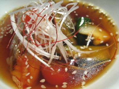 冷麺@ホルモン場bar