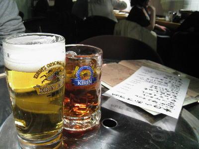 beer@ホルモン場bar