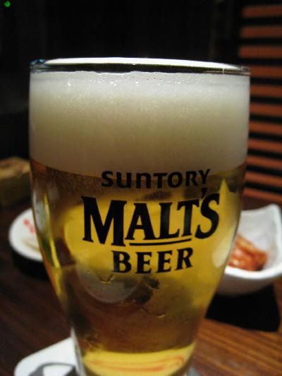 ビール@あもん