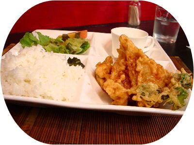 魚と野菜の天麩羅@ペスケ・P