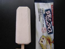 豆乳でつくったアイス
