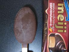 明治チョコレートアイスクリームバー濃厚プレミアムチョコレート