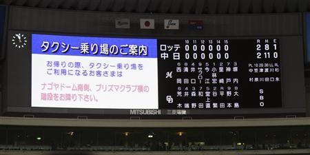 日本シリーズ延長戦