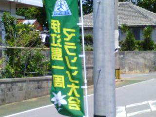 マラソン2013のぼり(縮
