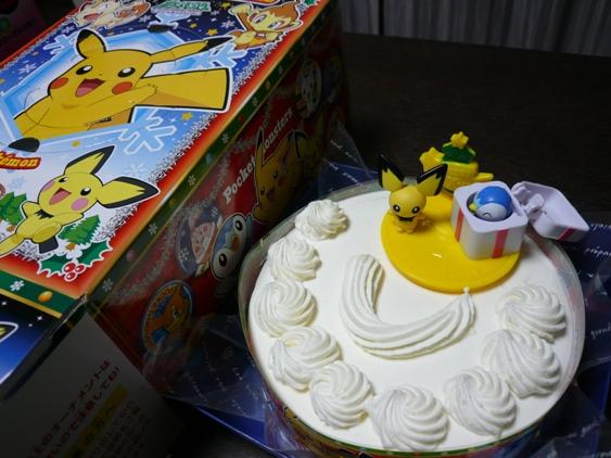 ピカチューの他に戦隊物のケーキもあった。
