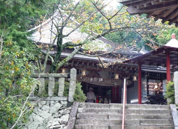 この寺にも宿坊があるようです。