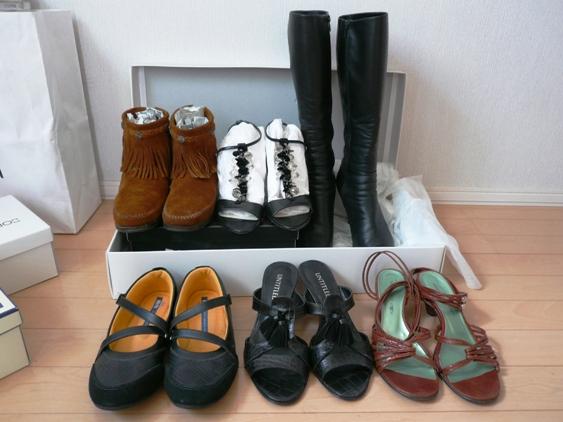 4,5万もする革ブーツなんて、自分じゃもう一生買わないんだろうな。。