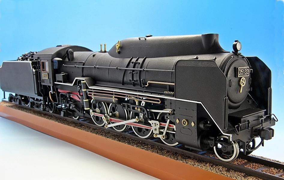 D51 蒸気機関車-3