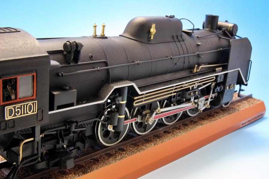 D51 蒸気機関車-11