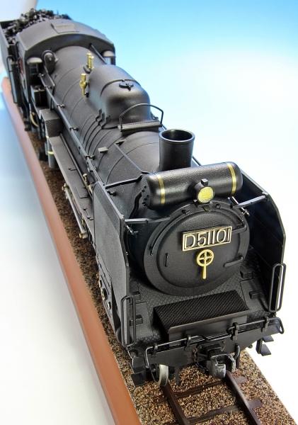 D51 蒸気機関車-13