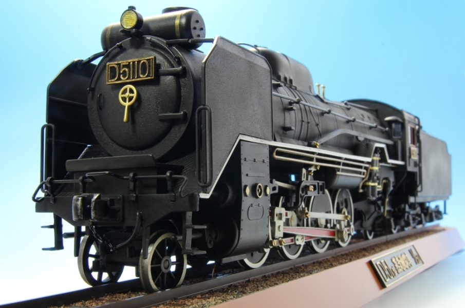D51 蒸気機関車-14