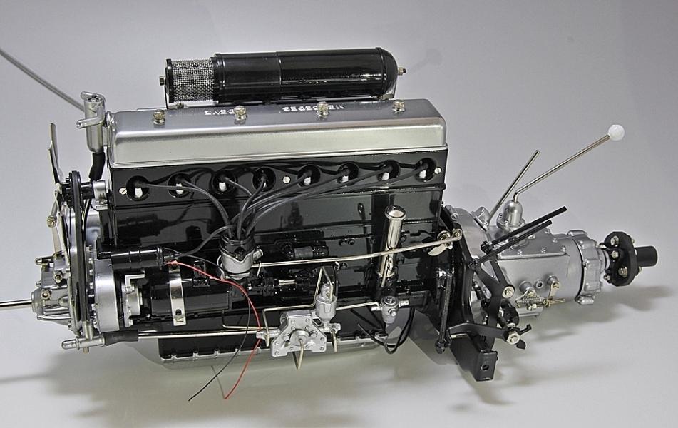 ベンツエンジン-1