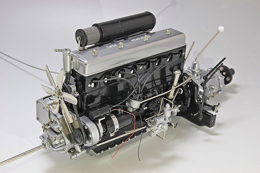 ベンツエンジン-2