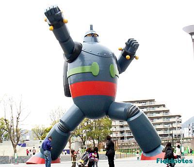 長田の鉄人28号モニュメント