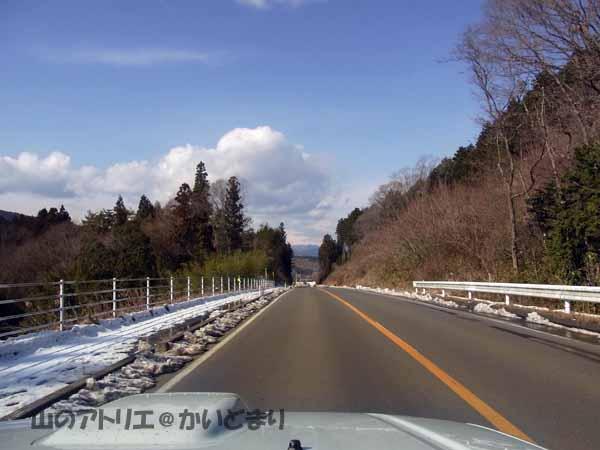 2福島県に入ると雪