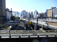 池袋大橋からの眺め