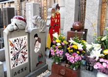 石ノ森章太郎氏のお墓