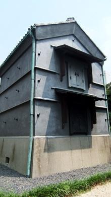 旧江戸川乱歩艇の「幻影城」(蔵)