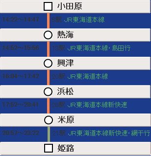 小田原→姫路3