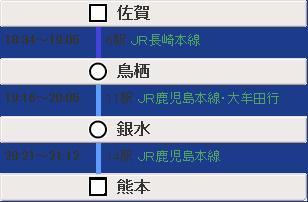 佐賀→熊本