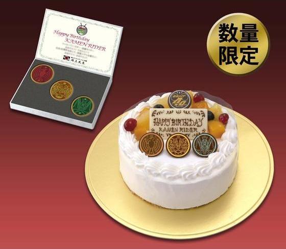 鴻上会長ケーキ
