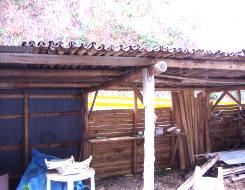 工夫された屋根
