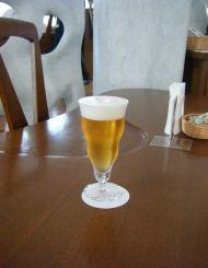 彫刻とビール2