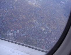 秋田県上空