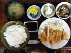 500円の日替わり定食