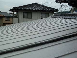 不思議な屋根