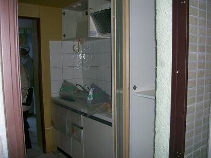 新築キッチンなど