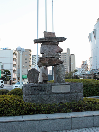 アステールプラザの石像