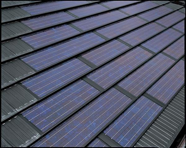 屋根一体型太陽電池