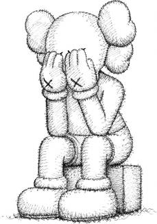 KAWS Companion Sculpture 3